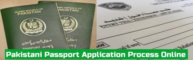 Pakistani Passport Application Process Online