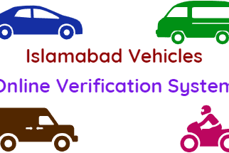 Verify Islamabad Vehicles Online Verification System fi
