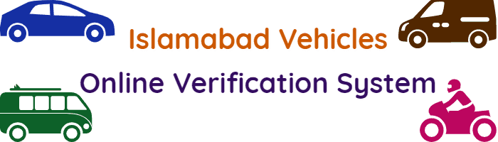 Verify Islamabad Vehicles Online Verification System