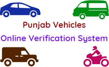 Verify Punjab Vehicles Online Verification System fi
