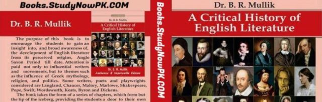 Download Critical History of English Literature by BR Mullik