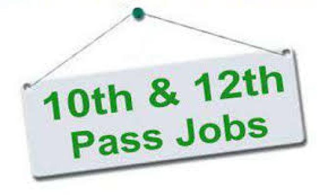 10th 12th Pass Govt Jobs 2019