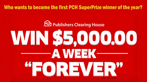 PCH ActNow Super Prize Sweepstakes