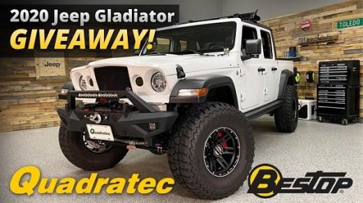 Quadratec Jeep Gladiator Giveaway