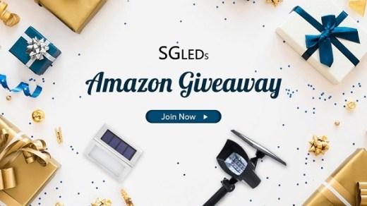 SGLEDs Outdoor LED Solar Lights Giveaway