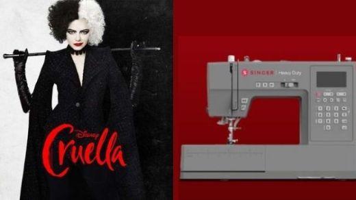 Singer Disney Cruella Sweepstakes