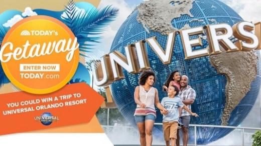 Today Universal Orlando Resort Sweepstakes