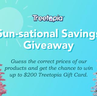 Treetopia Sun-Sational Savings Giveaway