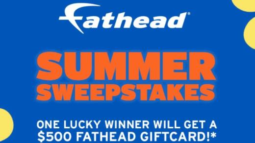 Fathead Summer Sweepstakes