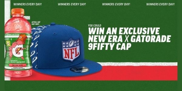 The Gatorade NFL Hat Instant Win Game