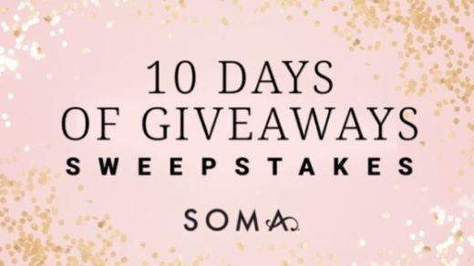 Soma 10 Days of Giveaways