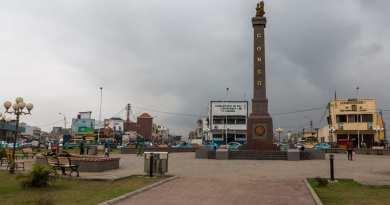van het kast naar de muur naar het centrale plein in Pointe Noire - www.edvervanzijnbed.nl