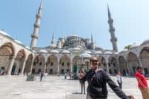 Blauwe Moskee / Istanboel / Turkije