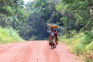 T9 tussen Mpanda en Uvinza / Tanzania