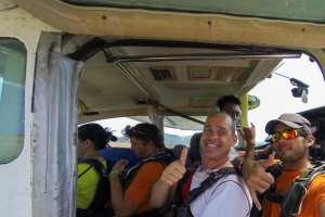 Enkele kilometers boven Fiji