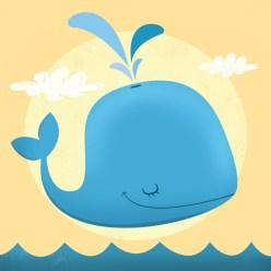 ballena vector whale