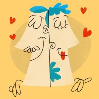 Amor vector Love Ilustración