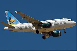 Frontier Airbus A318