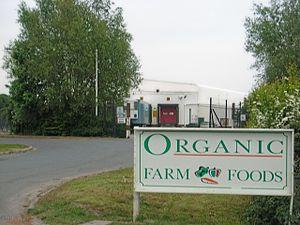 English: Organic Farm Foods The packing facili...