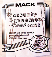 an advertisement of an extended warranty