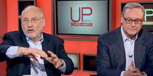 ED CONARD DEBATES JOE STIGLITZ ON MSNBC'S UP WITH CHRIS HAYES