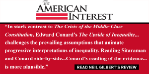 "The American Interest reviews ""The Upside of Inequality"""