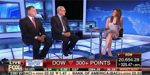 "Ed Conard debates market reaction to Comey controversy with Trish Regan on Fox Business Network's ""Intelligence Report."""
