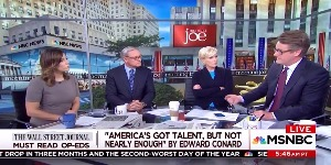 MSNBC Morning Joe_WSJ op-ed
