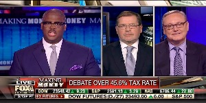 "Ed Conard debates Grover Norquist, President of Americans for Tax Reform, on the economics of the Republican tax plan with Charles Payne on Fox Business News ""Making Money."""