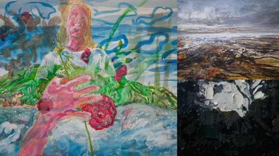 Ten College Exhibition 6.6.15 Hester Berry, Edward Crumpton and Peter Kettle