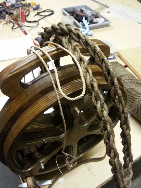 Rope from Rope Making Machine