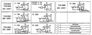Buy Sunvic TLM2253 20a(9a) 3 to 27o C Room Thermostat  Edwardes