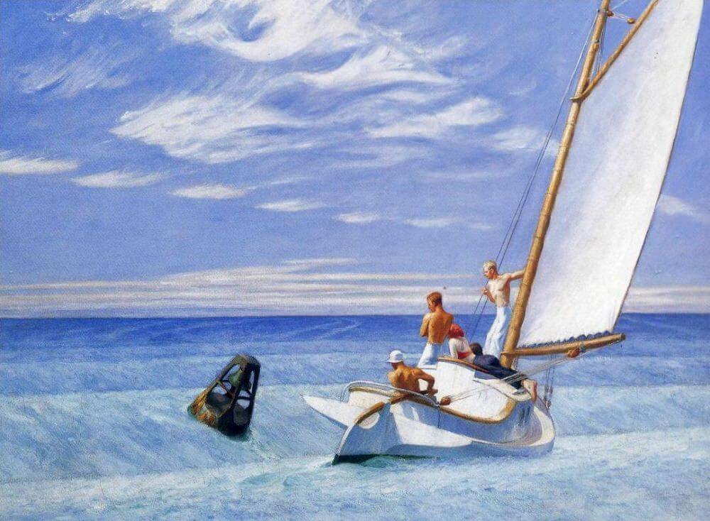 Ground Swell 1939 By Edward Hopper