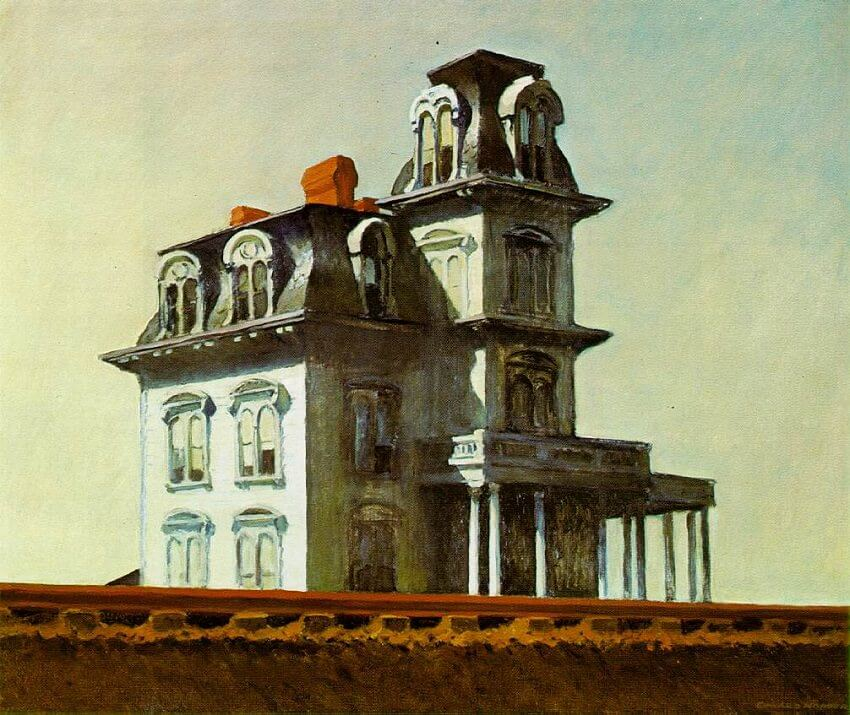 Hourse by The Railroad, 1925 by Edward Hopper