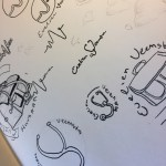schetsen logo