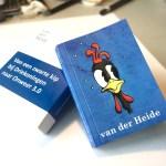 Omslag flipbook, boekje met animatie