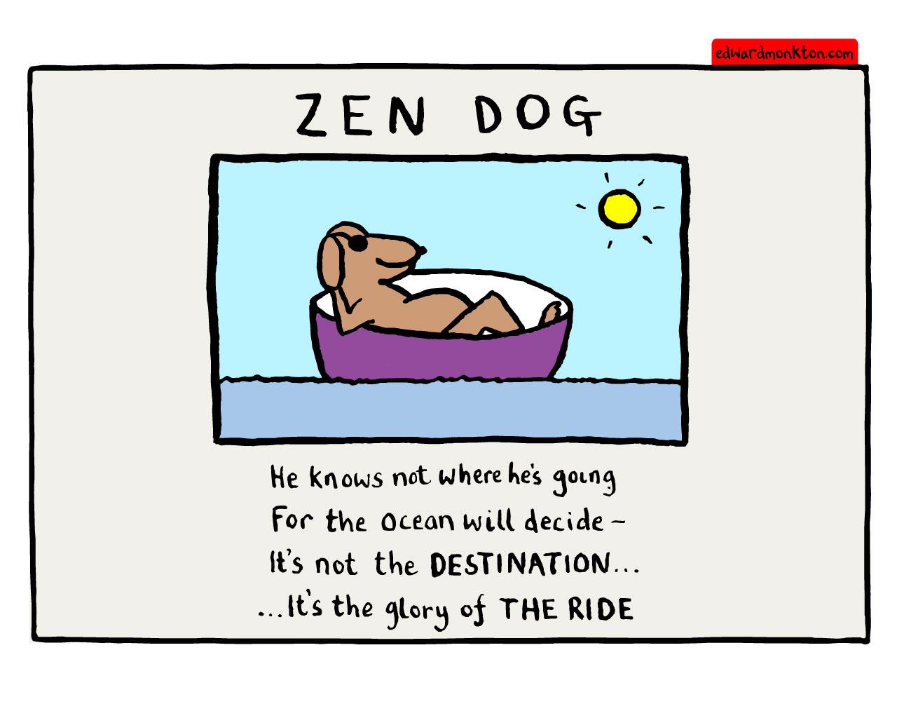 Le chien de Zen