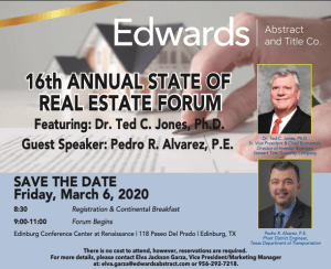 Edwards Abstract and Title Co. Hosts 16th Annual Real Estate Forum