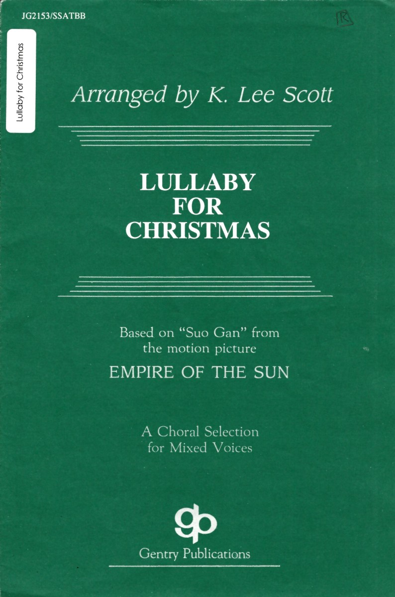 Lullaby For Christmas Scott Music At Edwards Church