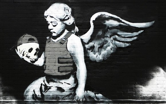 Banksy Angel