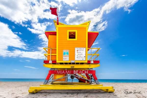 Lifeguard Tower 3 St Straight Landscape