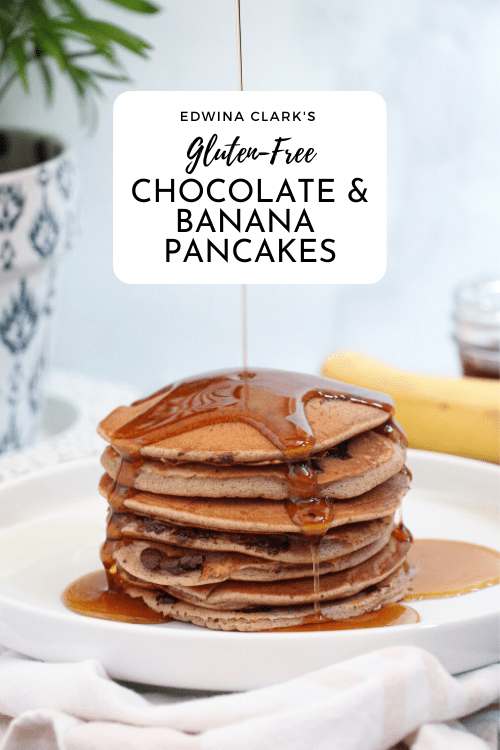 Chocolate Chip Banana Pancakes Gf I Edwina Clark Registered Dietitian And Wellness Expert