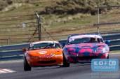 Michael van der Heijden - Frenk en Leo Vollebrecht - Mazda MX5 - Mazda MaX5 Cup - DNRT Super Race Weekend - Circuit Park Zandvoort