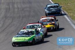 Marcel Dekker - Christopher Woodger - Youri Verswijveren - Bart Wubben - Mazda MX5 - Mazda MaX5 Cup - DNRT Super Race Weekend - Circuit Park Zandvoort