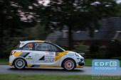 Timo van der Marel - Rebecca Smart - Opel Adam Slam R2 - Unica Schutte ICT Hellendoorn Rally 2015