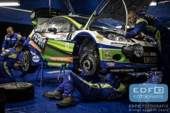 Service FERM Powertools World Rally Team - Unica Schutte ICT Hellendoorn Rally 2015