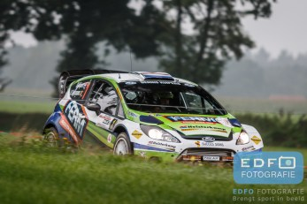 Dennis Kuipers - Robin Buysmans - Ford Fiesta RS WRC - FERM Power Tools WRT - Unica Schutte ICT Hellendoorn Rally