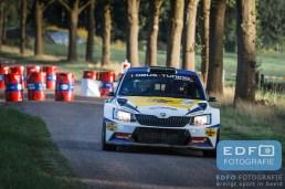 Hermen Kobus - Erik de Wild - Skoda Fabia R5 - Unica Schutte ICT Hellendoorn Rally 2015