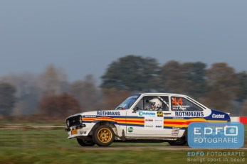 Mike Stacey - Jeffrey Guns - Ford Escort RS - Conrad Twente Rally 2015