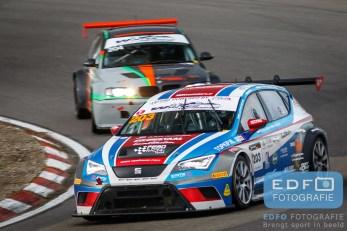 Dennis de Borst - Melvin de Groot - Seat Leon Cupracer - FEBO Racing Team - DNRT WEK Zandvoort 500